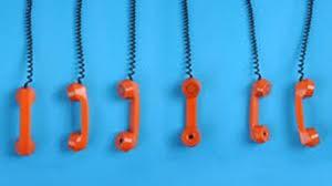 hanging phone