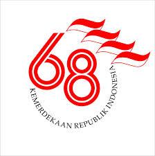 logo 68 tahun kemerdekaan RI