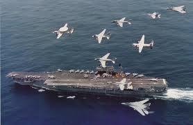 Kapal induk CV-63 Kitty Hawk milik US Navy. Keren kan kalau kita punya? Foto: history.navy.mil