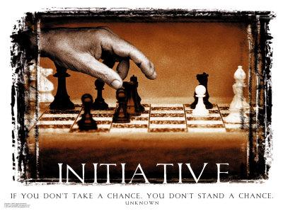 kita harus mempunyai inisiatif dalam jalan menuju keberhasilan