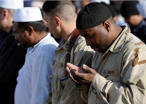 International brothers, sisters in faith gather at Kandahar Air Field for Eid al-Adha