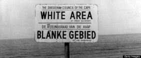Plang khusus kawasan kulit putih