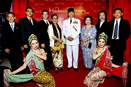 Patung lilin Soekarno di museum Madame Tussaud, Bangkok