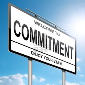 Welcome to commitment