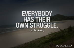 life struggle