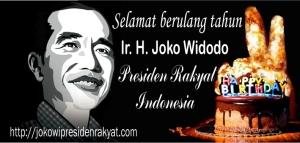 Selamat HUT Jokowi
