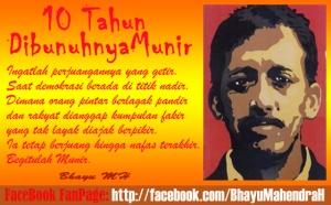 FB FanPage BMH-10 th wafat Munir