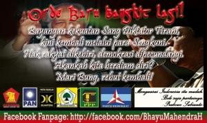 FB FanPage BMH-Orde Baru Bangkit Lagi