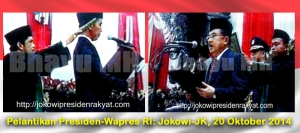 Pelantikan Pres-Wapres Jokowi-JK