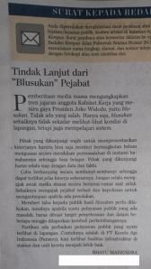 Surat Pembaca Bhayu-Kompas 141118