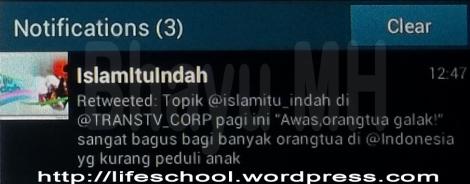 RT Islam Itu Indah